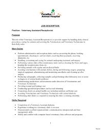 Receptionist Job Resume Receptionist Job Description Resume Beauty Salon Hair 12