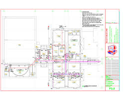autocad plumbing drafting samples plans residential abc p02 0