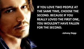 Johnny Depp Love Quotes Simple Johnny Depp Quotes About Love QUOTES HOPE