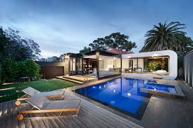 outdoor house pools. Beautiful Pools CurvaHouseoutdoorpoolloungearea Inside Outdoor House Pools H