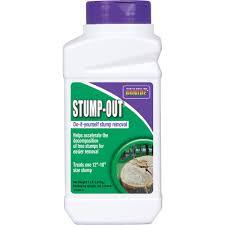 stump out diy stump removal granules