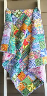 Ready to ship patchwork quilt, lap quilt, Kaffe Fassett fabrics ... & Ready to ship patchwork quilt, lap quilt, Kaffe Fassett fabrics quilt, pink, Adamdwight.com