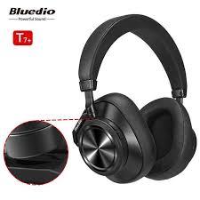 Online Shop <b>Bluedio T7 Plus</b> Bluetooth Headphones Active Noise ...