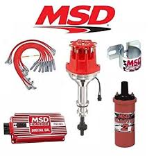 amazon com msd 9024 ignition kit digital 6al distributor wires msd 9024 ignition kit digital 6al distributor wires coil ford 351c m