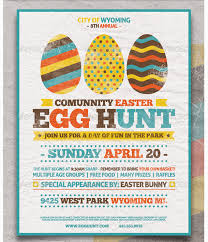 Easter Egg Hunt Flyer Template Party Flyer Templates For Clubs