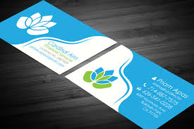 Serious Elegant Financial Planning Business Card Design For