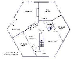 Hexagon House Plans  Hexagonal Home Plans  Hexagonal House Plans Hexagon House Plans