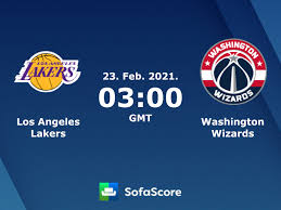 Los Angeles Lakers Washington Wizards live score, video stream and H2H  results - SofaScore