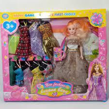 Set 10 Bộ Quần Áo Cho Búp Bê Barbie giảm tiếp 164,600đ