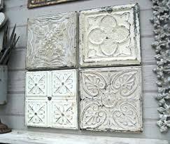 wall arts white metal wall decor ergonomic wrought iron wall pertaining to latest distressed metal