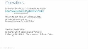 Best Practice Series Exchange Server 2013 05 Operations Best