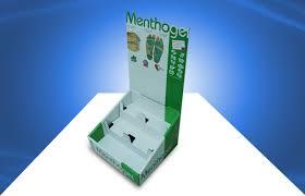two tier cardboard countertop displays storage box for nursingcare s