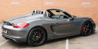 Used 2015 Porsche Boxster 981 [12-Current] SPYDER for sale in ...
