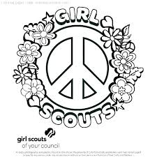 Daisy Girl Scout Coloring Pages Daisy Girl Scout Law Promise