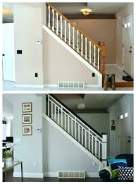 replace stair railing. Replace Stair Railing Replacing Makeover Wood Railings With Wrought Iron Installation Cost Stai . Spindle Repair Rail