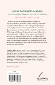 against ecological r ticism verrier elwin and the making of an against ecological r ticism back jpg