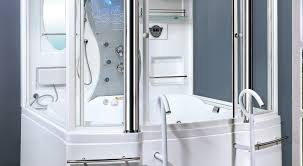 ariel 701 steam shower with whirlpool bathtub reviews ideas