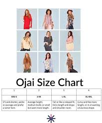 Piphany Ojai And Chanel Sizing Chart Just 4 Sizes And Most