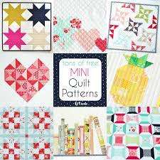Mini Quilt Patterns Simple Free Mini Quilt Patterns U Create