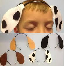 dog ear costume headband