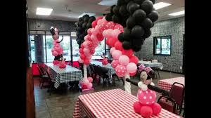Minnie Mouse Baby Shower Decorations Minnie Mouse Babyshower Youtube