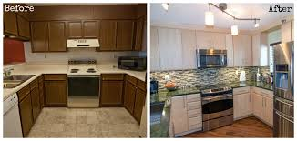 Small Picture Do your kitchen cabinets need a makeover See how much refinishing