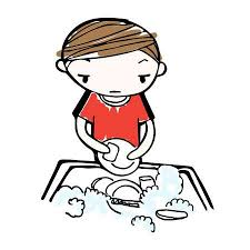 boy washing dishes clipart. Beautiful Clipart Vector  Vector Of Cartoon Boy Wash Dishes In Sink To Boy Washing Dishes Clipart N