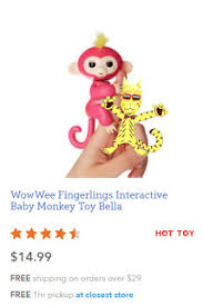 Penny Puss: WowWee Fingerlings Interactive Bella Monkey is available ...