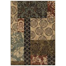 Small Picture Home Decorators Collection Finley Patchwork Multi 7 ft 10 in x