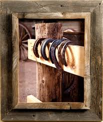 4x6 cowboy picture frames 2 25 wide western rustic series rustic picture frames by mybarnwoodframes decor inc