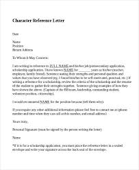Recommendation Letter For A Friend Template Inspiration Template For Character Reference Letter For Friends Character