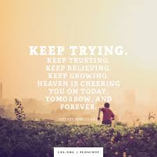Quote Of Today New Keep Trying
