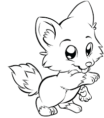 Arctic Fox Coloring Pages Trustbanksurinamecom