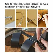 leather working tools kit set sewing craft supplies stitching making groover 27p for