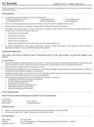 Management Sample Resume Download Production Resume Samples Sample