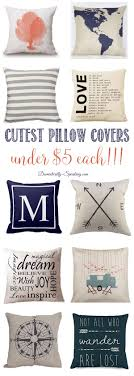 Cutest Pillow Covers that are under $5 | Easy pillow update