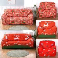 sofa covers. Sofa Covers Merry Christmas Decoration Couch Slipcover Easy Fit Stretch Cover Elastic Fabric Settee