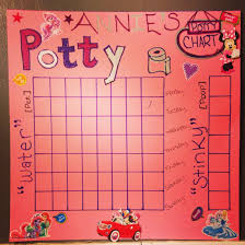 Diy Potty Training Chart I Just Made I Hope This Works