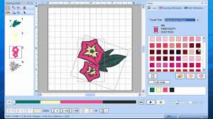 Brother Embroidery Machine Design Software Brother Ped Basic Software For Downloading Embroidery