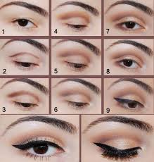 tutorial for brown eyes with natural makeup jpg 500 524 pixels