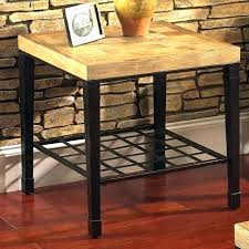 round light oak side table end tables great designs gorgeous