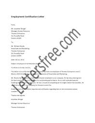 7 Employment Certification Letter Sample Gcsemaths Revision