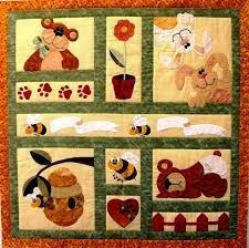 Peekaboo Bear Applique Quilt Pattern (superior Bear Quilt Patterns ... & ... Bunnies And Bears Quilt Pattern (delightful Bear Quilt Patterns  Applique #6) ... Adamdwight.com