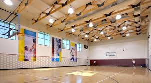 la fitness basketball court