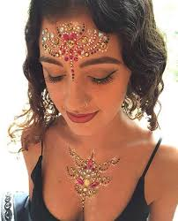 face jewel rhinestone makeup ideas to inspire you lupsona