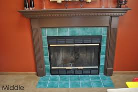 diy fireplace surround transformation