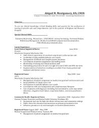 Surgical Nurse Resume Medical Surgical Nurse Resume Example Will Give Ideas And