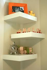 Ivory Floating Shelves Mesmerizing Decorations Decorating Floating Shelves Ideas With White Three
