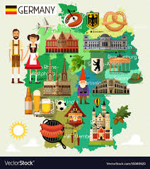 Animated Travel Map Germany Travel Map