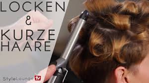how to curl short hair with a curling iron mit dennis